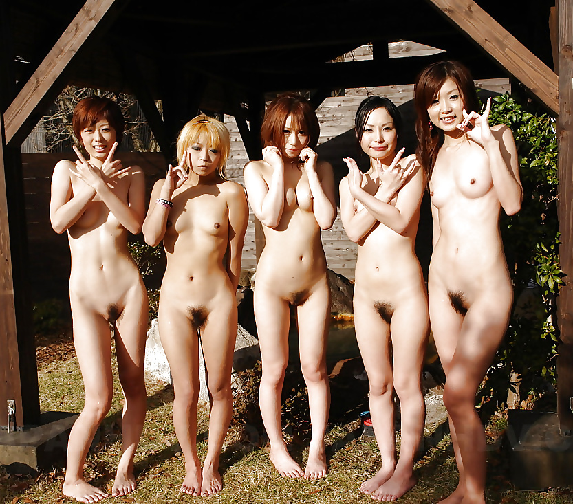 Asian girls nude playing