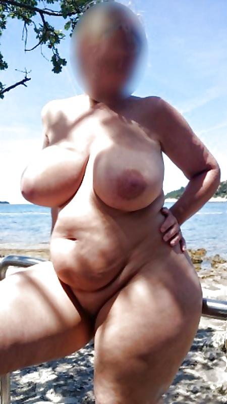 BBW sexpictures mit riesige schöne Brüsten