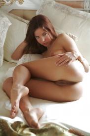Morgens Bildern aus schöne Brünette kostenlos foto von nackten frauen